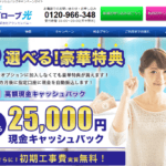 ビッグローブ光代理店アウンカンパニー☆キャンペーン詳細&評判