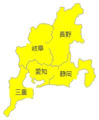 コミュファ光提供地域