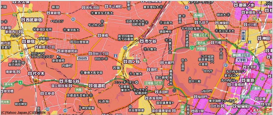 5GエリアMAP-東京