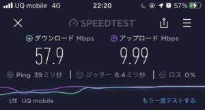 UQモバイル‗平日夜